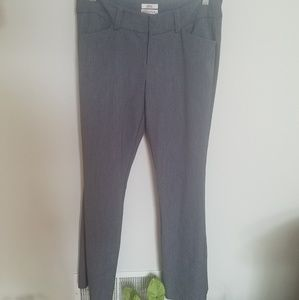 Slate gray slightly bootcut pants